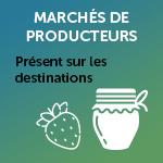 Marchés de producteurs sur les villages